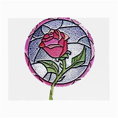 Beauty And The Beast Rose Small Glasses Cloth (2 Side)