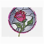 Beauty And The Beast Rose Large Glasses Cloth (2-Side) Front