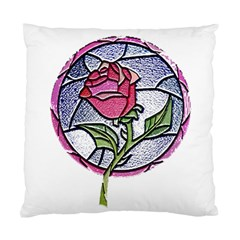 Beauty And The Beast Rose Standard Cushion Case (two Sides)