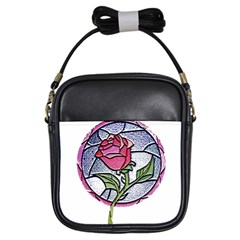 Beauty And The Beast Rose Girls Sling Bags