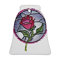 Beauty And The Beast Rose Bell Ornament (two Sides)