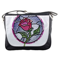 Beauty And The Beast Rose Messenger Bags