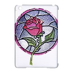 Beauty And The Beast Rose Apple Ipad Mini Hardshell Case (compatible With Smart Cover)