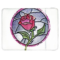 Beauty And The Beast Rose Samsung Galaxy Tab 7  P1000 Flip Case