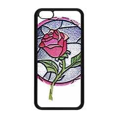 Beauty And The Beast Rose Apple Iphone 5c Seamless Case (black)