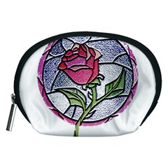 Beauty And The Beast Rose Accessory Pouches (medium)