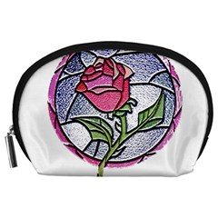 Beauty And The Beast Rose Accessory Pouches (large)