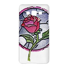 Beauty And The Beast Rose Samsung Galaxy A5 Hardshell Case