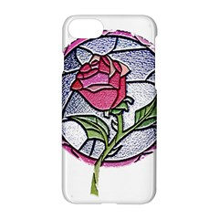 Beauty And The Beast Rose Apple Iphone 8 Hardshell Case