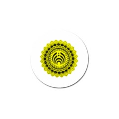 Bassnectar Sunflower Golf Ball Marker (4 Pack)