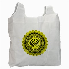 Bassnectar Sunflower Recycle Bag (one Side)