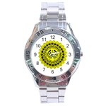 Bassnectar Sunflower Stainless Steel Analogue Watch Front