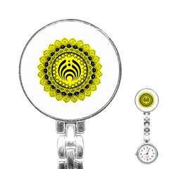 Bassnectar Sunflower Stainless Steel Nurses Watch