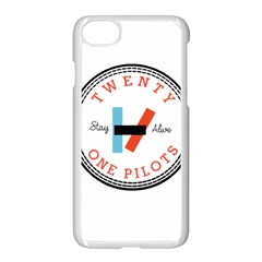 Twenty One Pilots Apple Iphone 7 Seamless Case (white)
