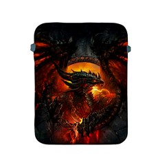 Dragon Legend Art Fire Digital Fantasy Apple Ipad 2/3/4 Protective Soft Cases