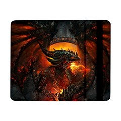Dragon Legend Art Fire Digital Fantasy Samsung Galaxy Tab Pro 8 4  Flip Case