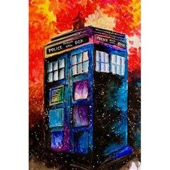 Dr Who Tardis Painting 5 5  X 8 5  Notebooks