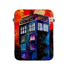 Dr Who Tardis Painting Apple Ipad 2/3/4 Protective Soft Cases