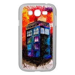 Dr Who Tardis Painting Samsung Galaxy Grand Duos I9082 Case (white)