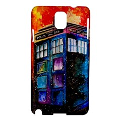 Dr Who Tardis Painting Samsung Galaxy Note 3 N9005 Hardshell Case