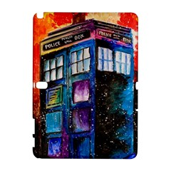 Dr Who Tardis Painting Galaxy Note 1