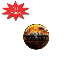 World Of Tanks Wot 1  Mini Magnet (10 Pack)