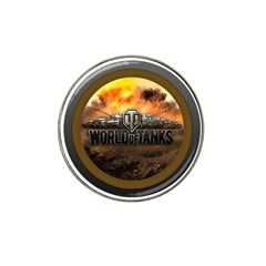World Of Tanks Wot Hat Clip Ball Marker (10 Pack)