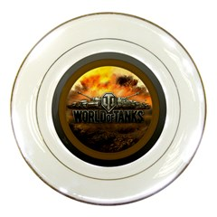 World Of Tanks Wot Porcelain Plates