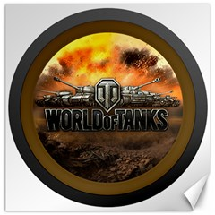 World Of Tanks Wot Canvas 16  X 16