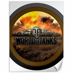 World Of Tanks Wot Canvas 18  X 24