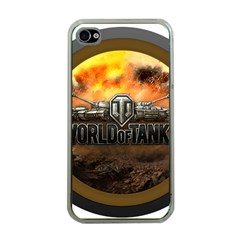World Of Tanks Wot Apple Iphone 4 Case (clear)
