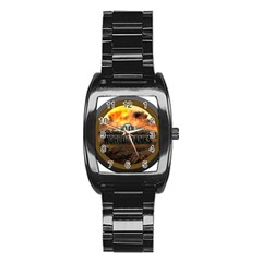 World Of Tanks Wot Stainless Steel Barrel Watch