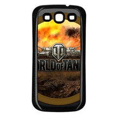 World Of Tanks Wot Samsung Galaxy S3 Back Case (black)
