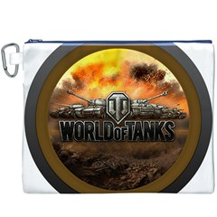 World Of Tanks Wot Canvas Cosmetic Bag (xxxl)