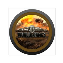 World Of Tanks Wot Small Satin Scarf (square)