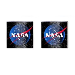 Nasa Logo Cufflinks (square)