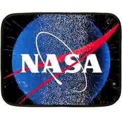 Nasa Logo Double Sided Fleece Blanket (mini)