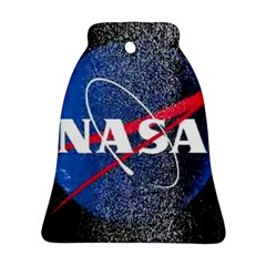 Nasa Logo Bell Ornament (two Sides)