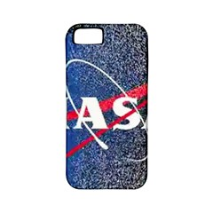 Nasa Logo Apple Iphone 5 Classic Hardshell Case (pc+silicone)
