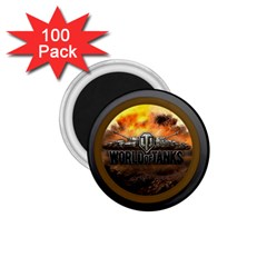 World Of Tanks Wot 1 75  Magnets (100 Pack)