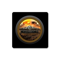 World Of Tanks Wot Square Magnet