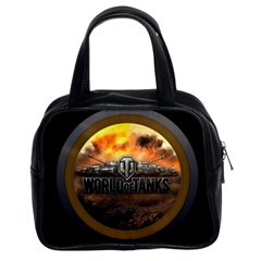 World Of Tanks Wot Classic Handbags (2 Sides)