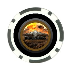 World Of Tanks Wot Poker Chip Card Guard (10 Pack)