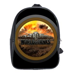 World Of Tanks Wot School Bag (large)