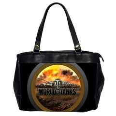 World Of Tanks Wot Office Handbags (2 Sides)
