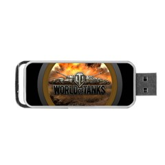 World Of Tanks Wot Portable Usb Flash (one Side)