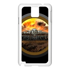 World Of Tanks Wot Samsung Galaxy Note 3 N9005 Case (white)