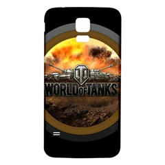World Of Tanks Wot Samsung Galaxy S5 Back Case (white)