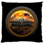 World Of Tanks Wot Standard Flano Cushion Case (One Side) Front