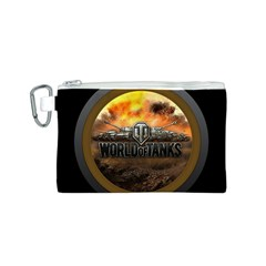 World Of Tanks Wot Canvas Cosmetic Bag (s)